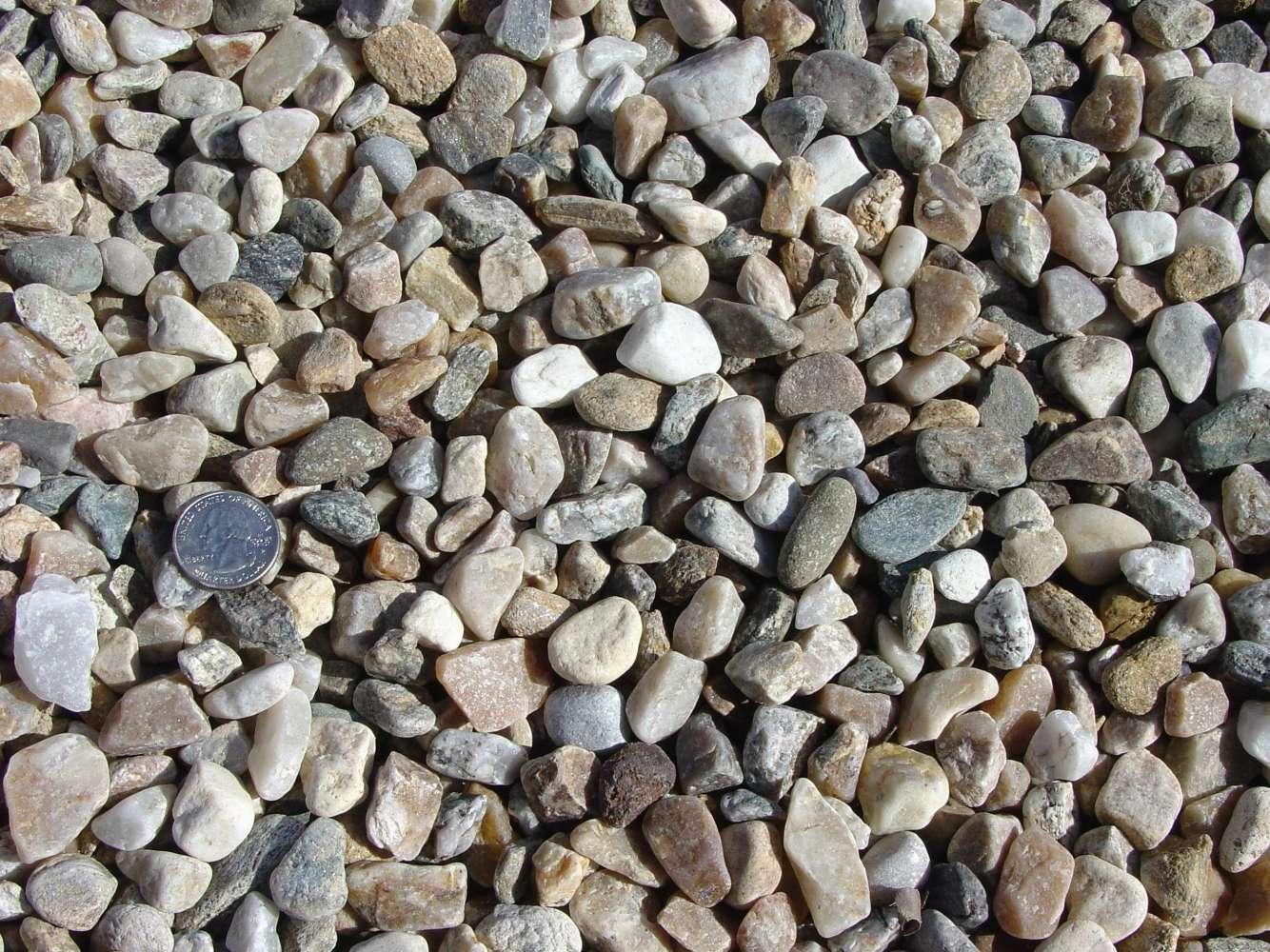 """Washed Crushed Native Stone 1/2"""""""